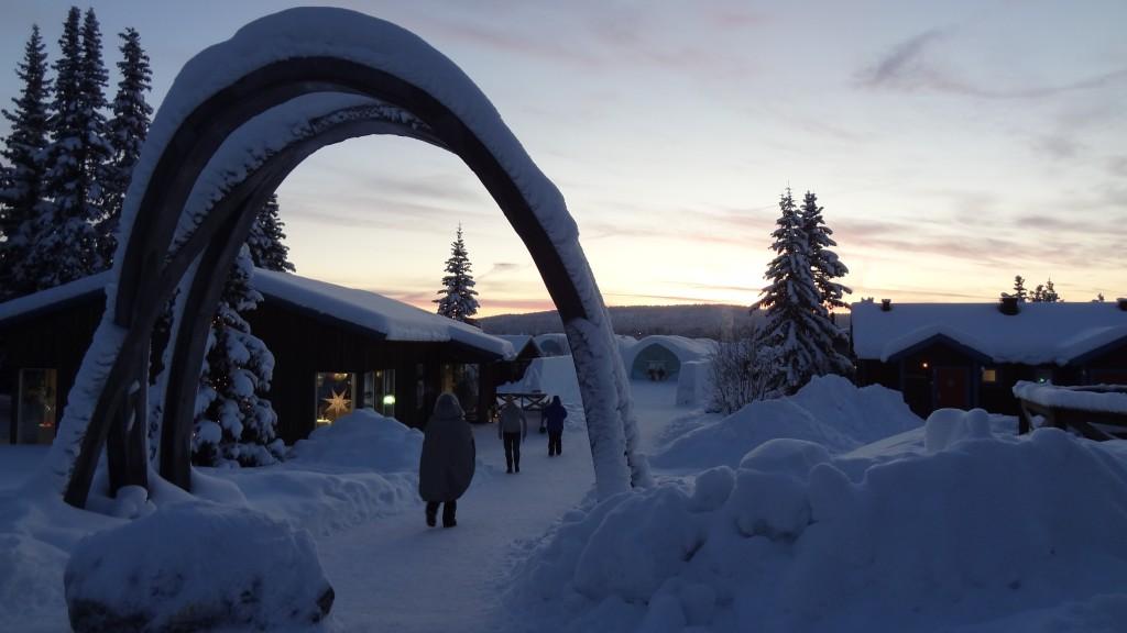 Eishotel, Schweden