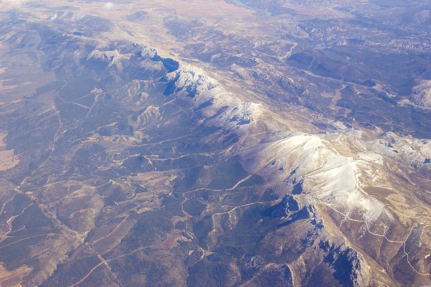 Luftbild Sierra Nevada